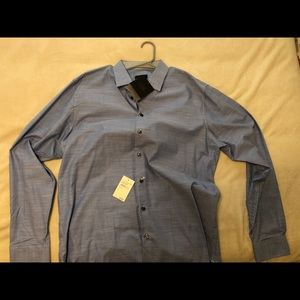 14th & Union Trim Fit Long Sleeve Buttoned Shirt